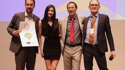 Premio AIF Olivetti. Le foto della premiazione di Eukinetica