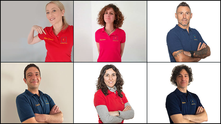 Il Team di Eukinetica cresce: vi presentiamo i nostri 6 nuovi Trainer