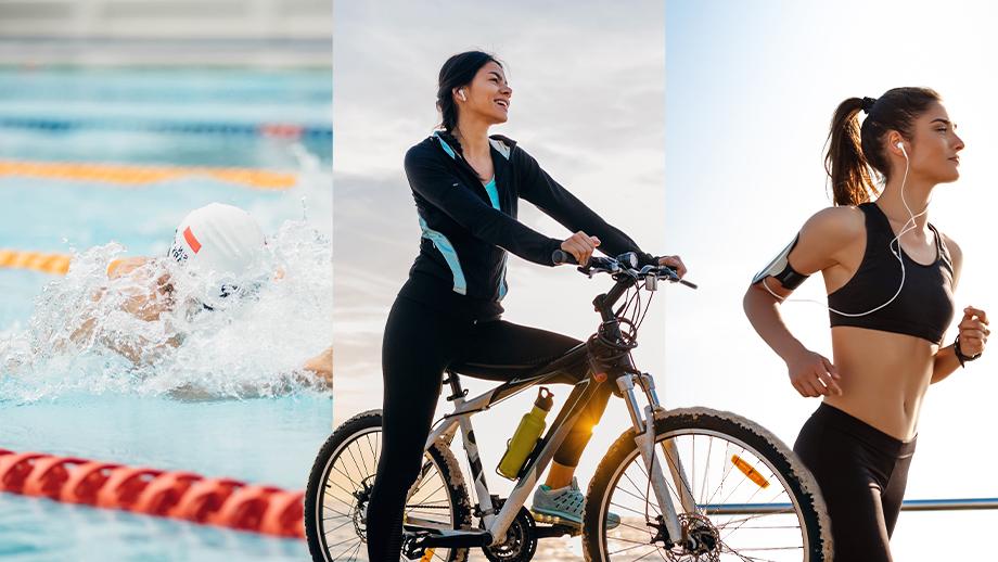 Nuoto, bici e corsa combinazione perfetta: l'attività di endurance per il benessere psico-fisico